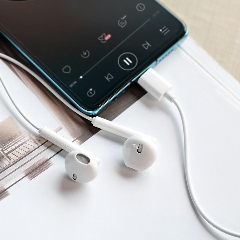浩酷 m65 殊音线控带麦耳机 type c 内部