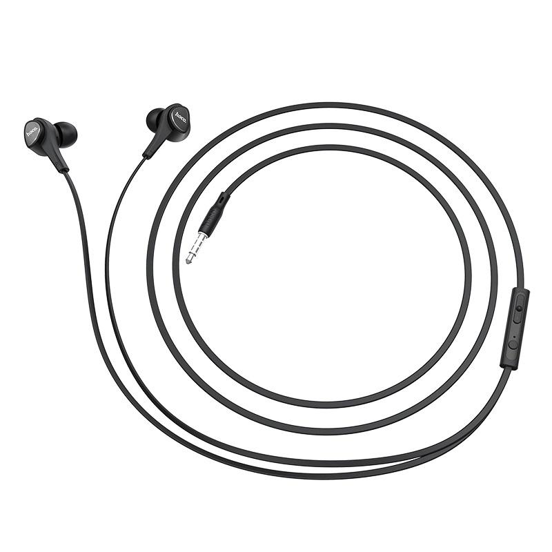 hoco m66 passion проводные наушники с микрофоном провод