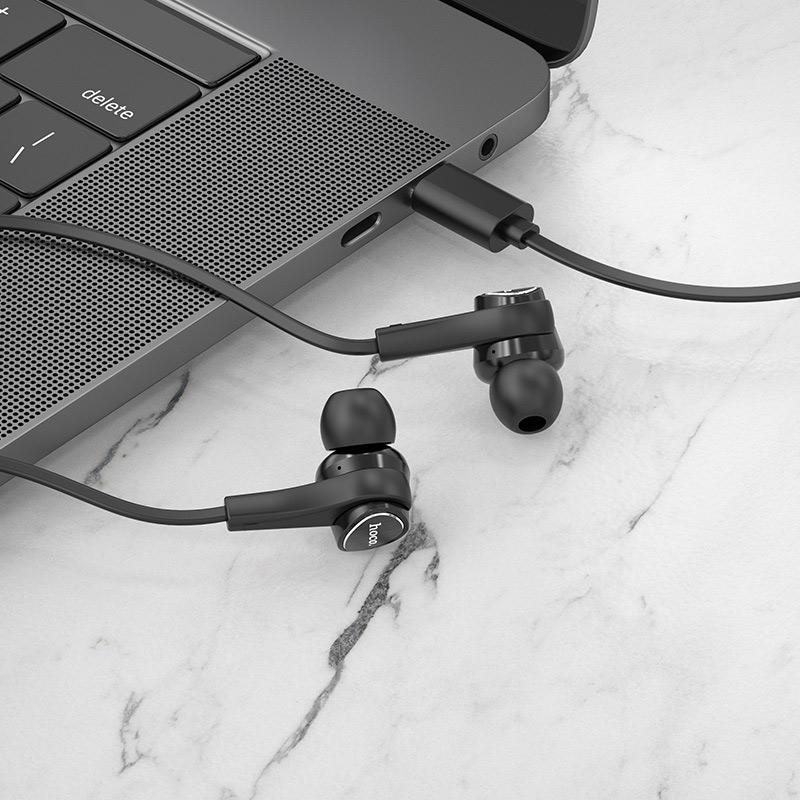 hoco m67 passion type c проводные наушники с микрофоном интерьер
