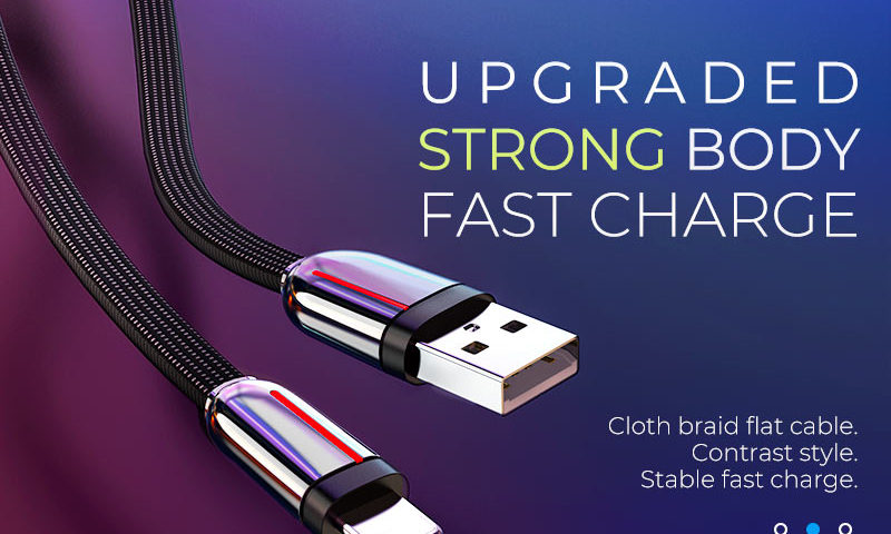 hoco news u74 grand charging data cable banner en