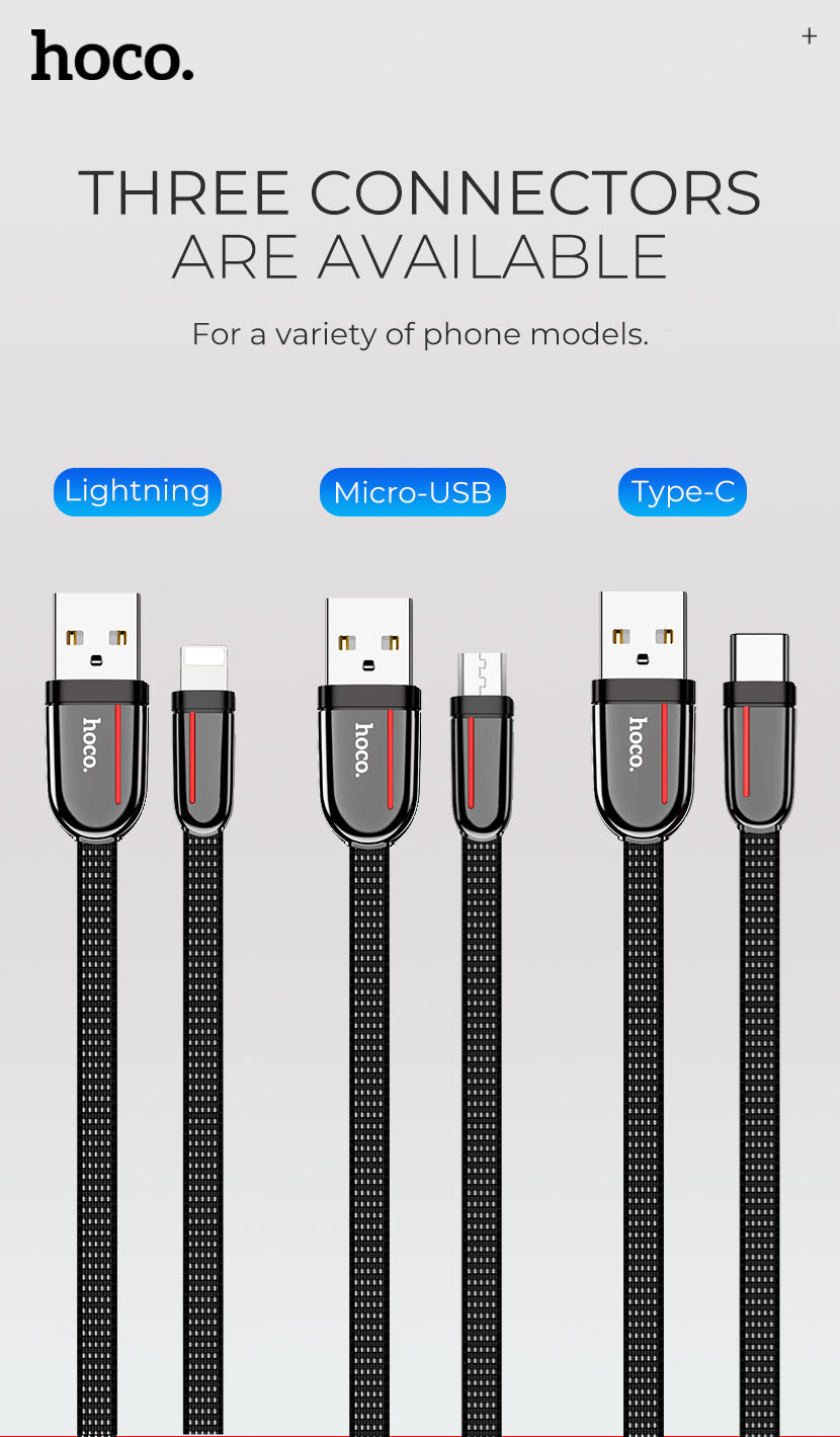 hoco news u74 grand charging data cable types en