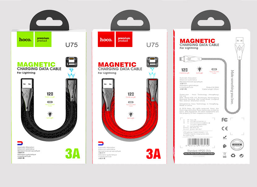 Hoco U75 Magnetic Charging Data Cable News Hoco The