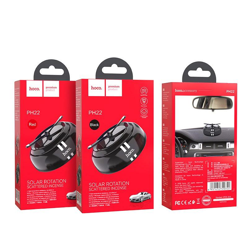 hoco ph22 bouquet автомобильный ароматизатор воздуха упаковка