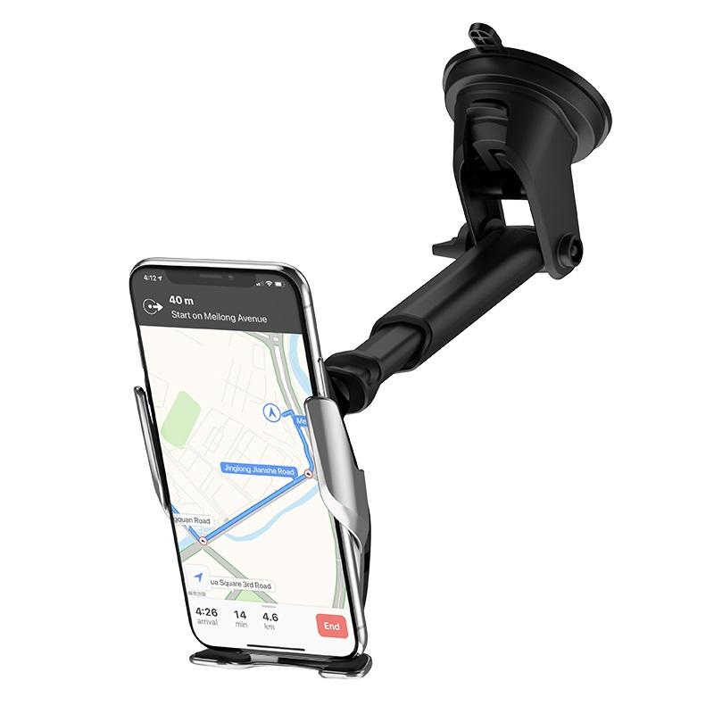 浩酷 s14 灵越自动感应无线充车载支架 伸缩式