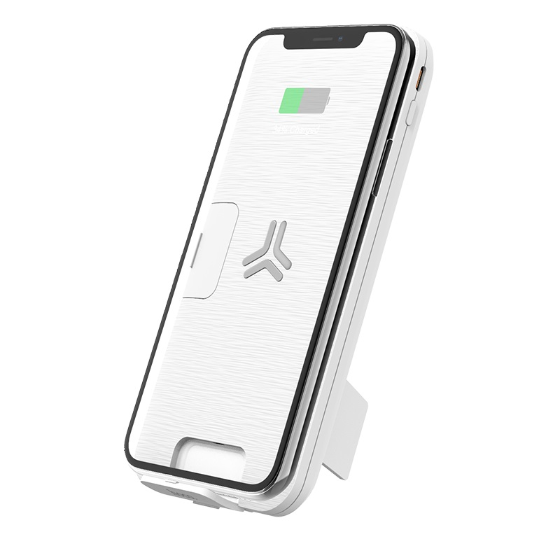 hoco s16 energy lake pd 10w wireless charging multi function mobile power bank 10000mah stand