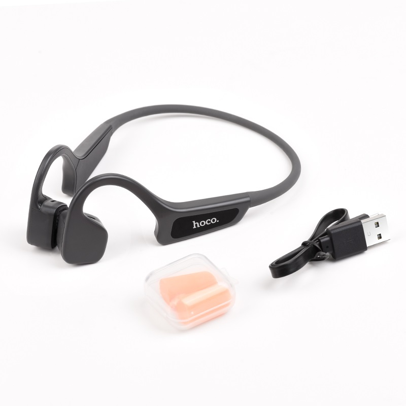 hoco selected s17 wise sound bone conduction wireless headset included