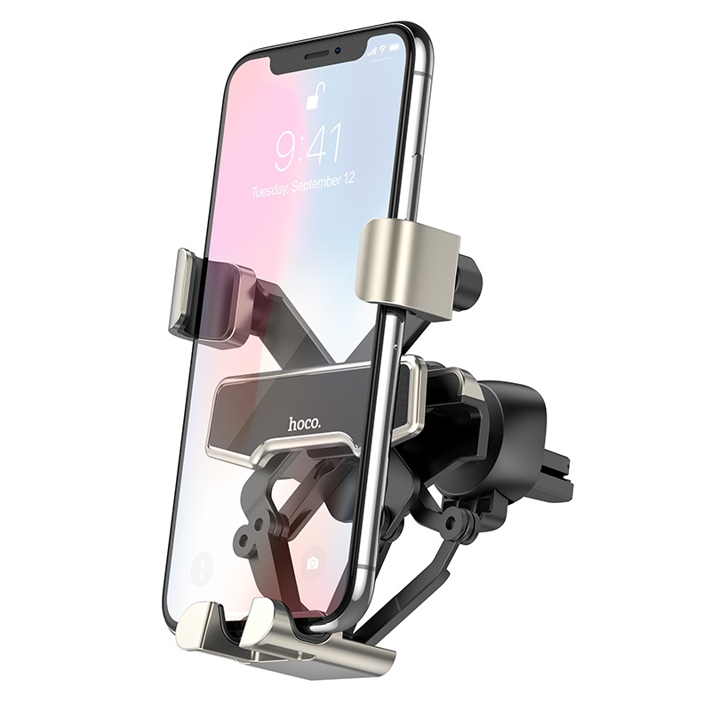 hoco selected s25 guide gravity linkage car holder phone