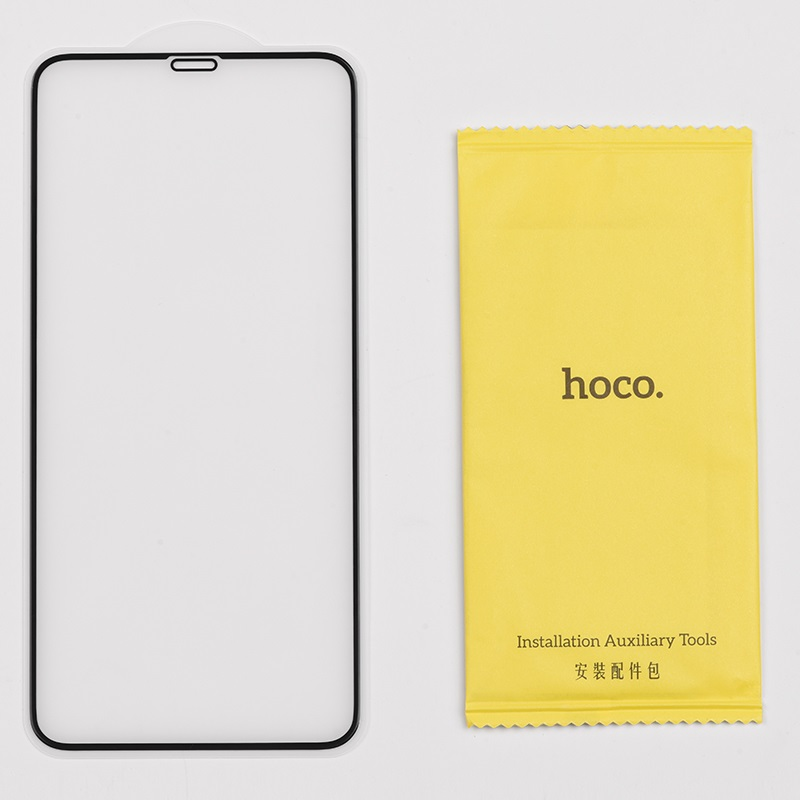 hoco silk screen g5 закаленное стекло набор 10 штук для iphone 11promax 11 11pro xsmax xr xs x комплект