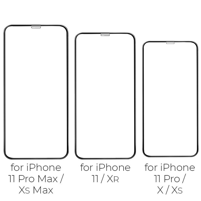 hoco silk screen g5 закаленное стекло набор 10 штук для iphone 11promax 11 11pro xsmax xr xs x модели