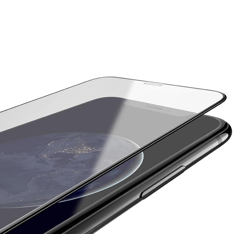 hoco silk screen g5 закаленное стекло набор 10 штук для iphone 11promax 11 11pro xsmax xr xs x защитное
