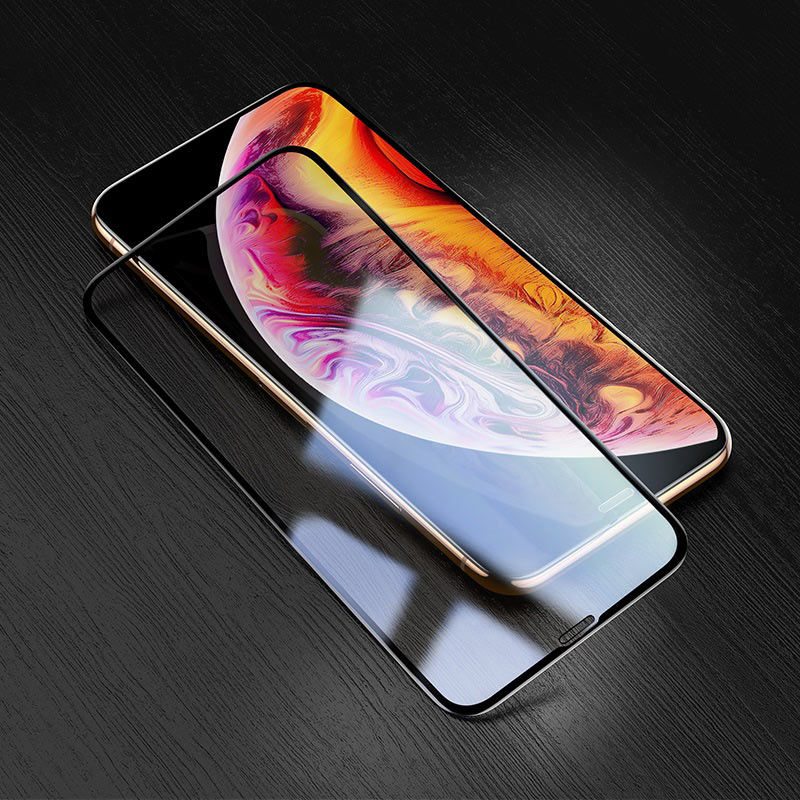 hoco silk screen g5 закаленное стекло набор 10 штук для iphone 11promax 11 11pro xsmax xr xs x прозрачный