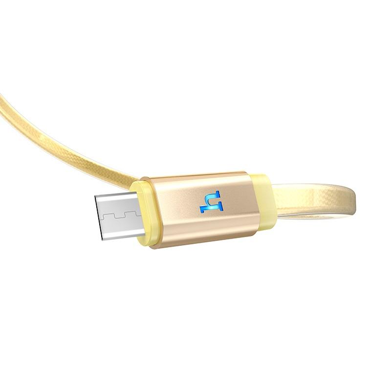 浩酷 upl12 plus 果冻编织充电数据线 micro usb 商标