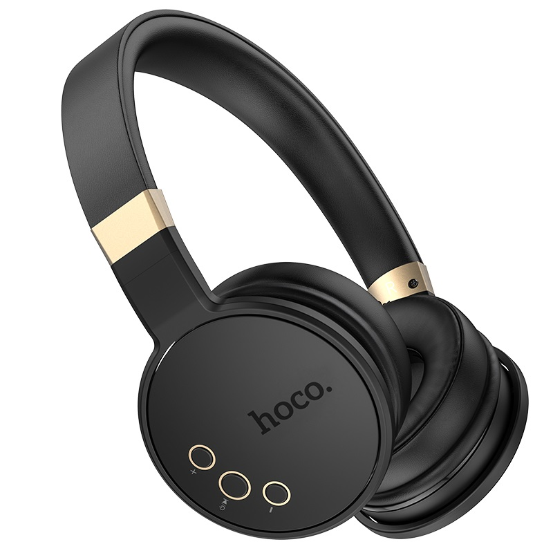 hoco w26 enjoyment wireless headphones buttons