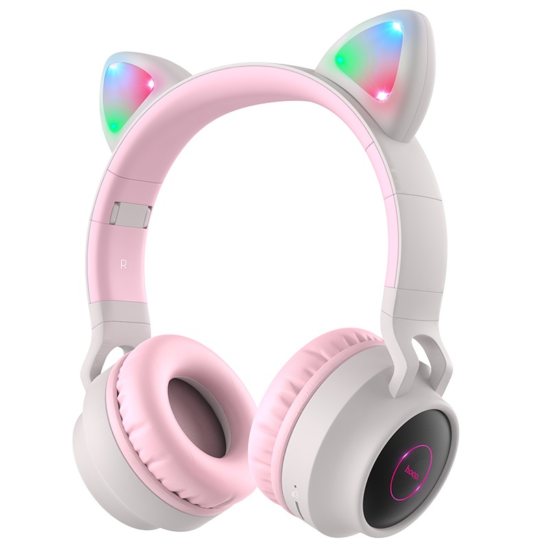 hoco w27 cat ear wireless headphones headband
