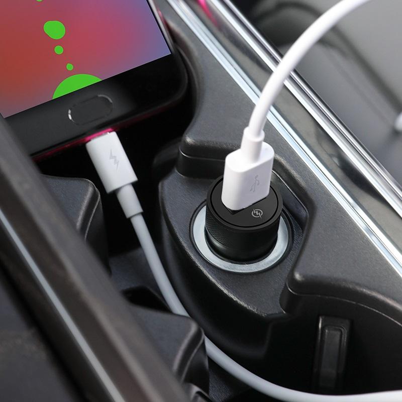 浩酷 z32a 极闪全兼容车载充电器套装 micro usb 7pin 内部