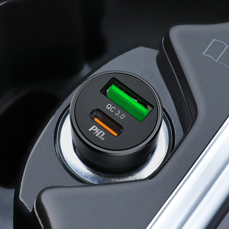hoco z32b speed up pd qc30 car charger interior