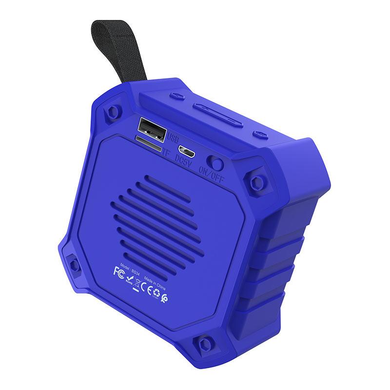浩酷 bs34 随声运动无线音箱 连接器