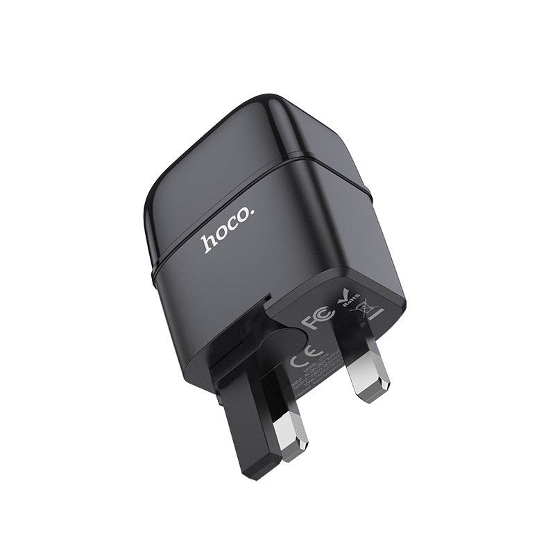 hoco c77b highway dual port charger uk bottom