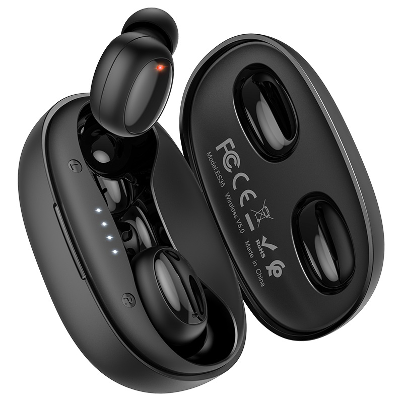 hoco es35 breezy wireless headset charging