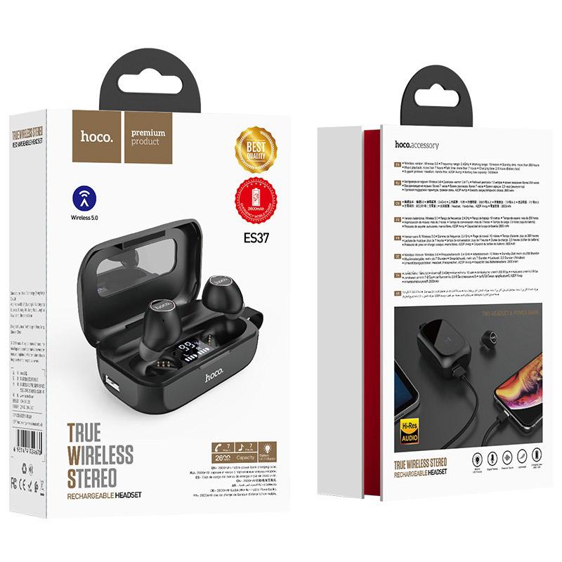 hoco es37 treasure song wireless headset package black