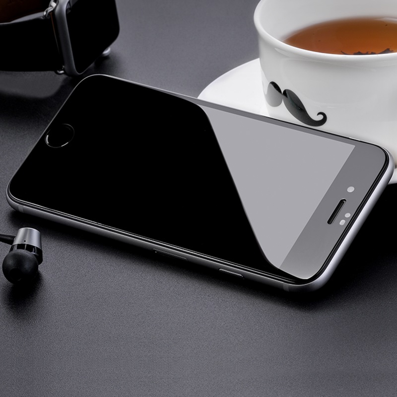 hoco full screen silk screen hd g5 tempered glass for iphone 7 8 plus 10pcs interior black
