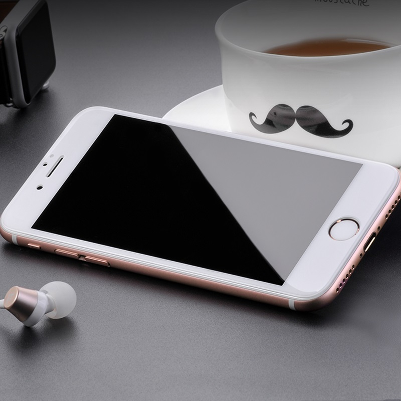 hoco full screen silk screen hd g5 tempered glass for iphone 7 8 plus 10pcs interior white