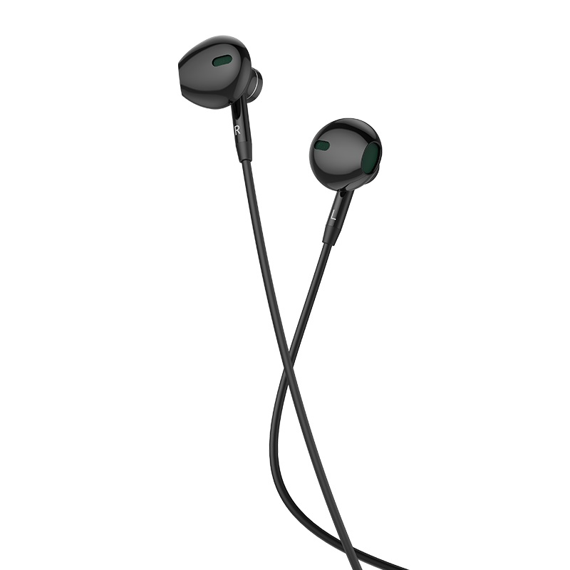 hoco l12 earl type c earphones with mic with charging port