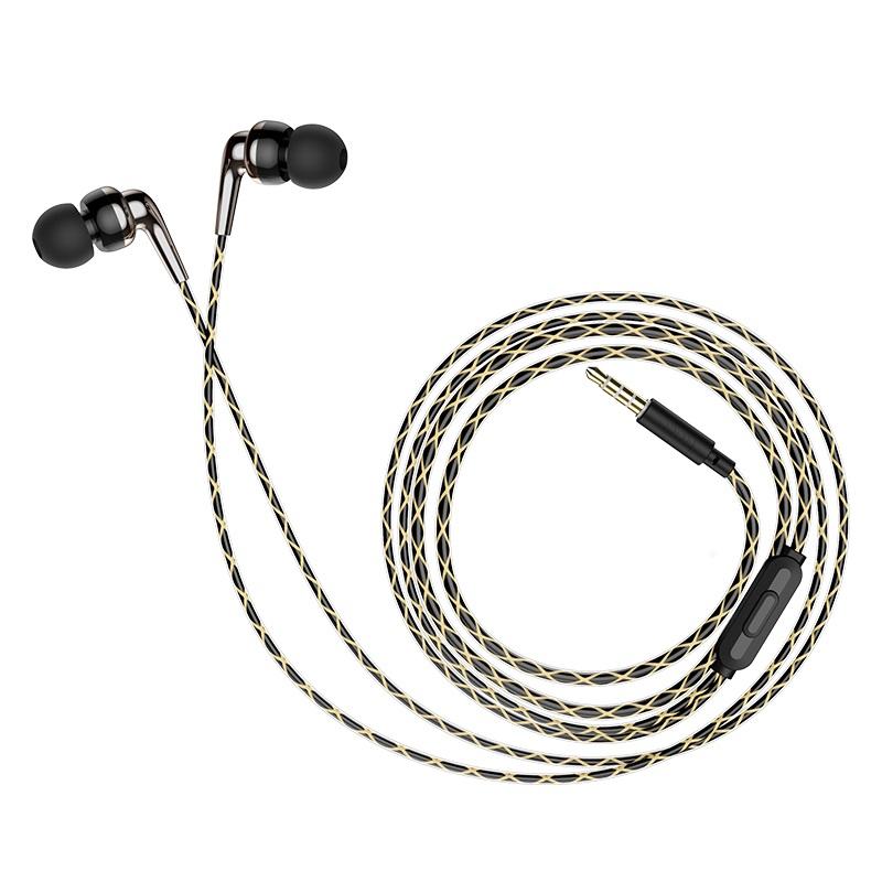 hoco m71 inspiring универсальные наушники с микрофоном сложенные