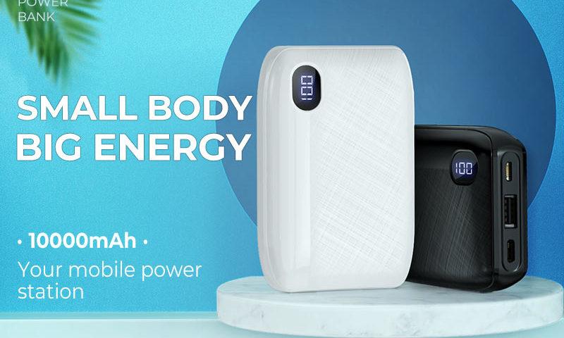 hoco news j53 exceptional mobile power bank 10000mah banner en