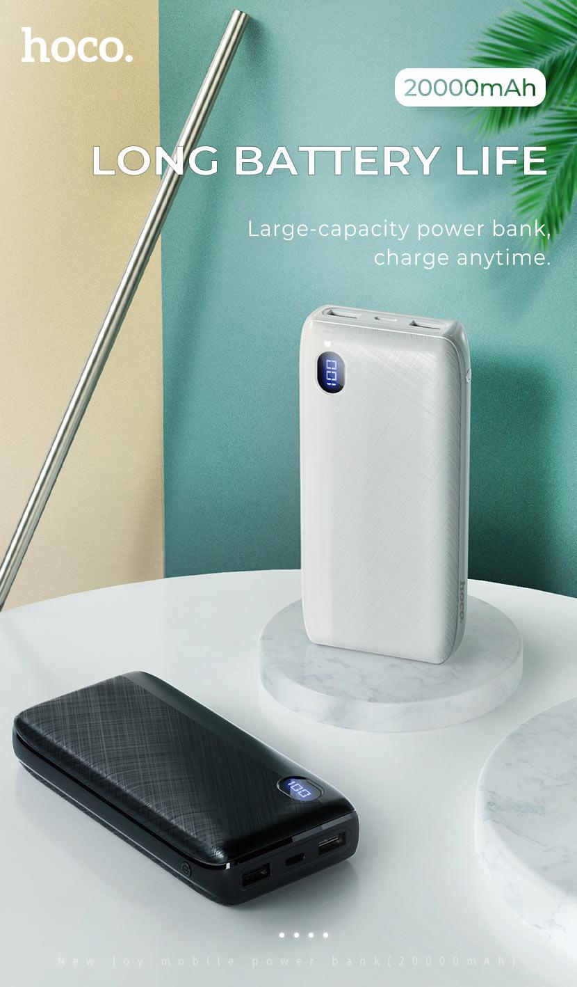 hoco news j53a exceptional mobile power bank 20000mah capacity en