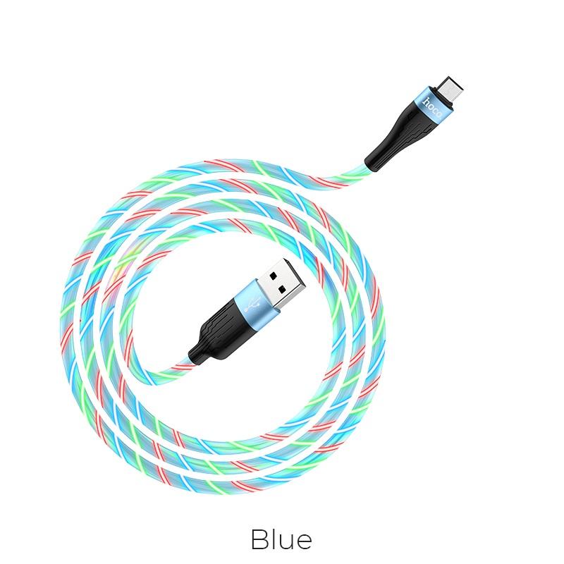 u85 micro usb blue