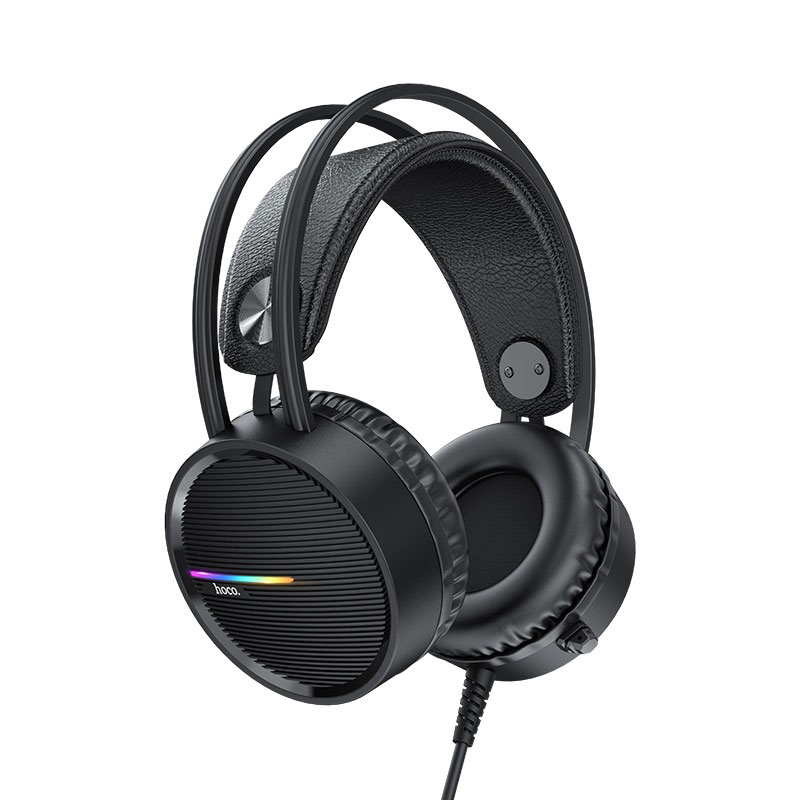 hoco w100 touring gaming headset mic