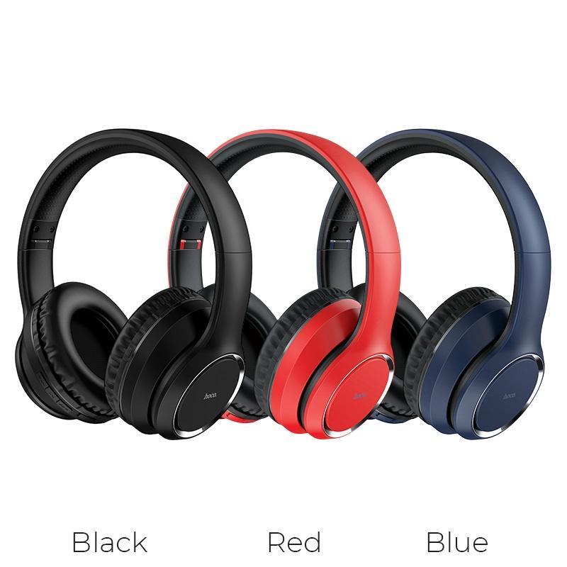 hoco w28 journey wireless headphones colors
