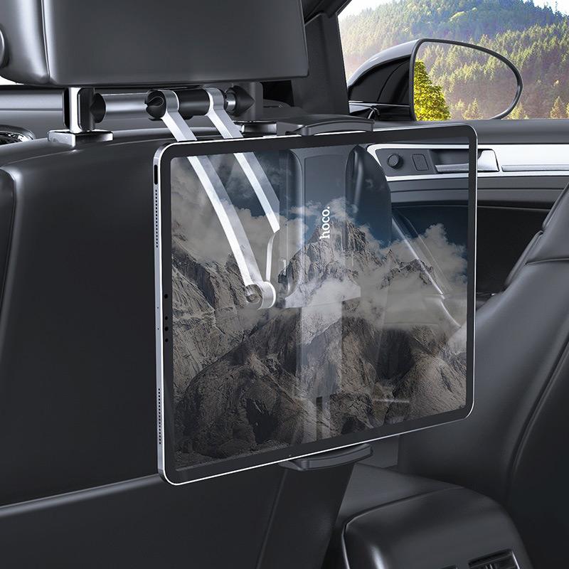 hoco ca62 handsome aluminum headrest in car holder interior tablet pc