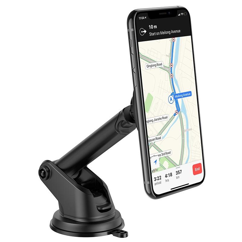 hoco ca67 sagittarius series stretch magnetic car holder phone