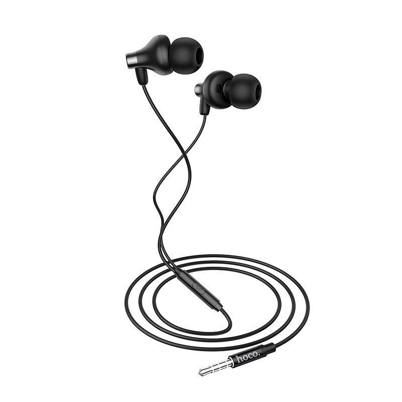 hoco m74 classic universal earphones with mic combination set cable