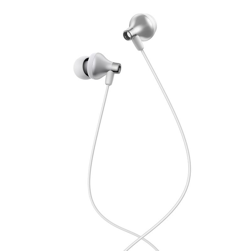 hoco m74 classic universal earphones with mic combination set eartips