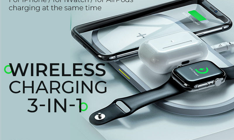 hoco news cw24 handsome 3in1 wireless fast charger banner en