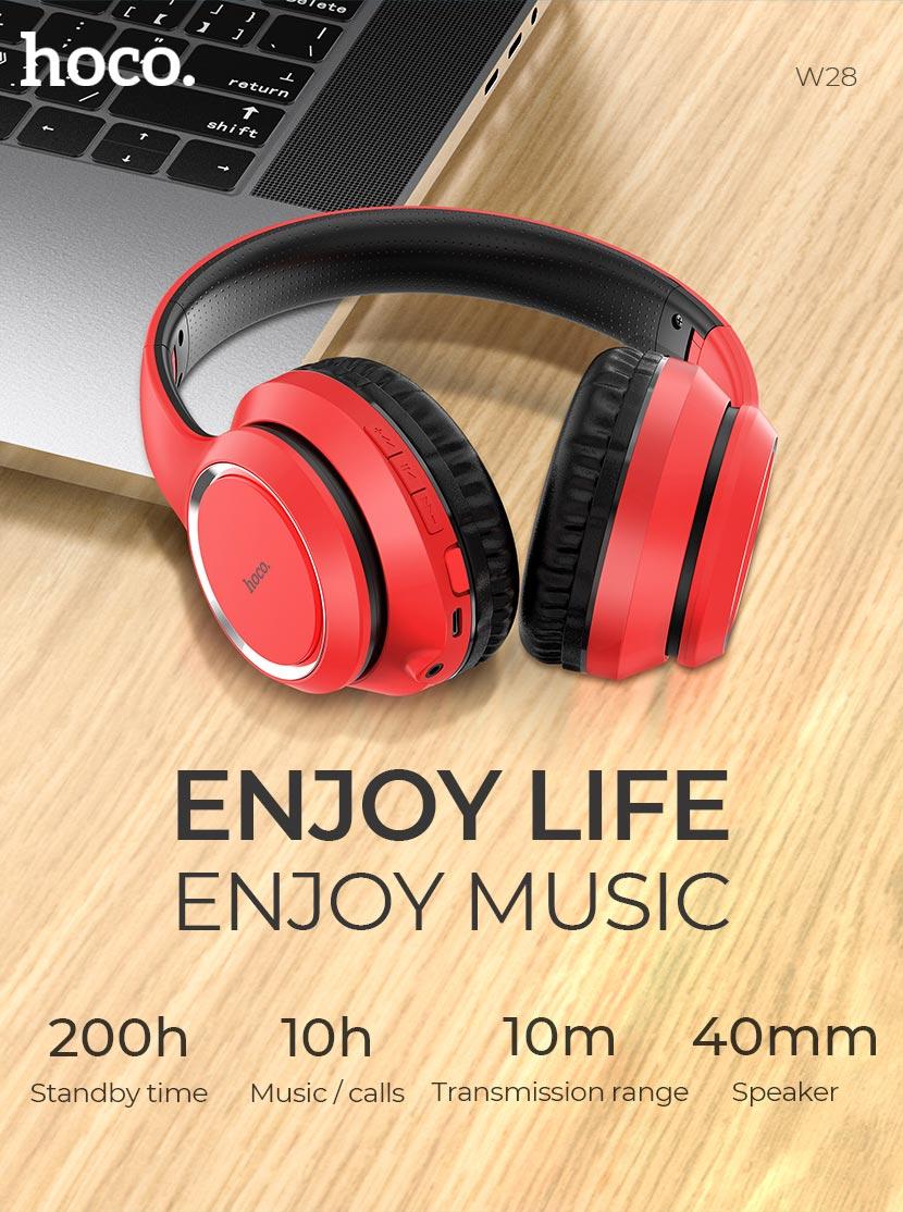 hoco news w28 journey wireless headphones life en