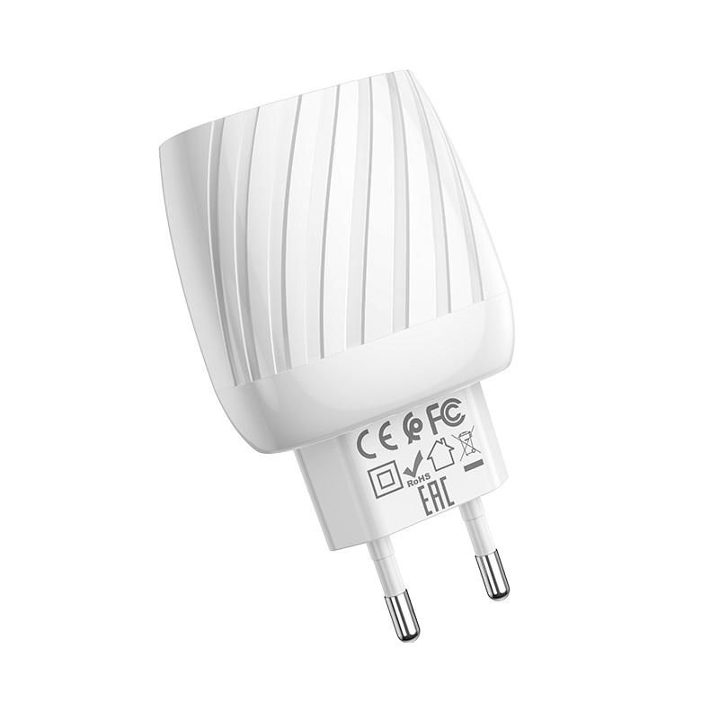 hoco c78a max energy зарядное устройство с двумя портами eu сертификация