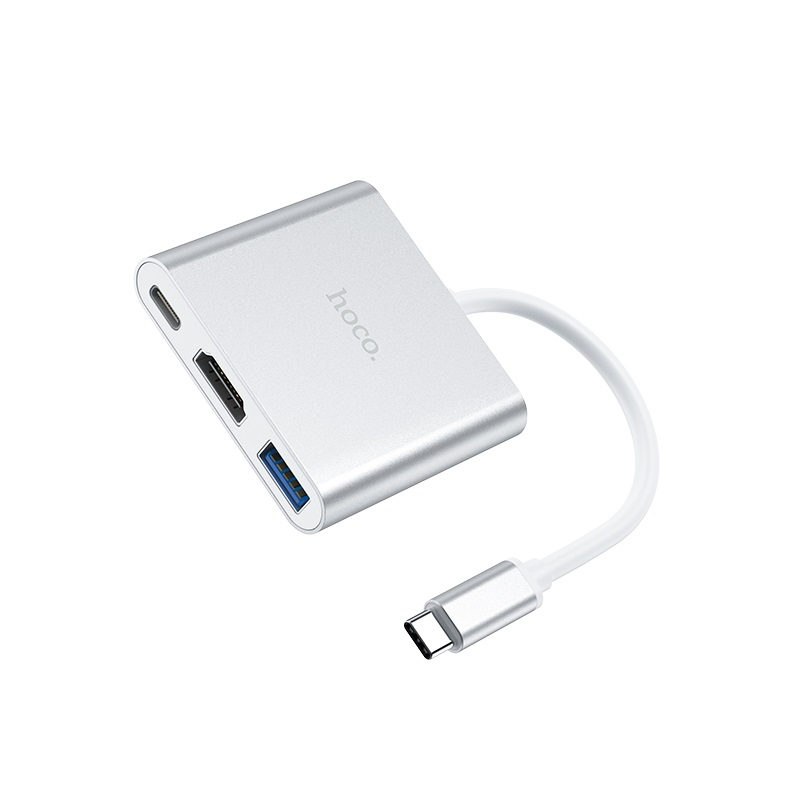 hoco hb14 easy use type c адаптер usb c
