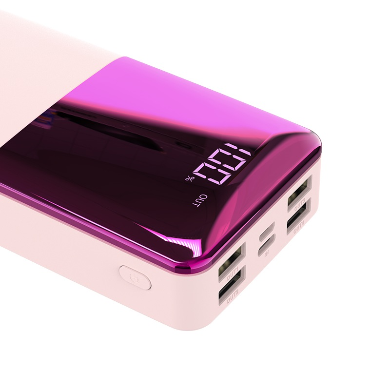 hoco j42a high power mobile power bank 20000mah display