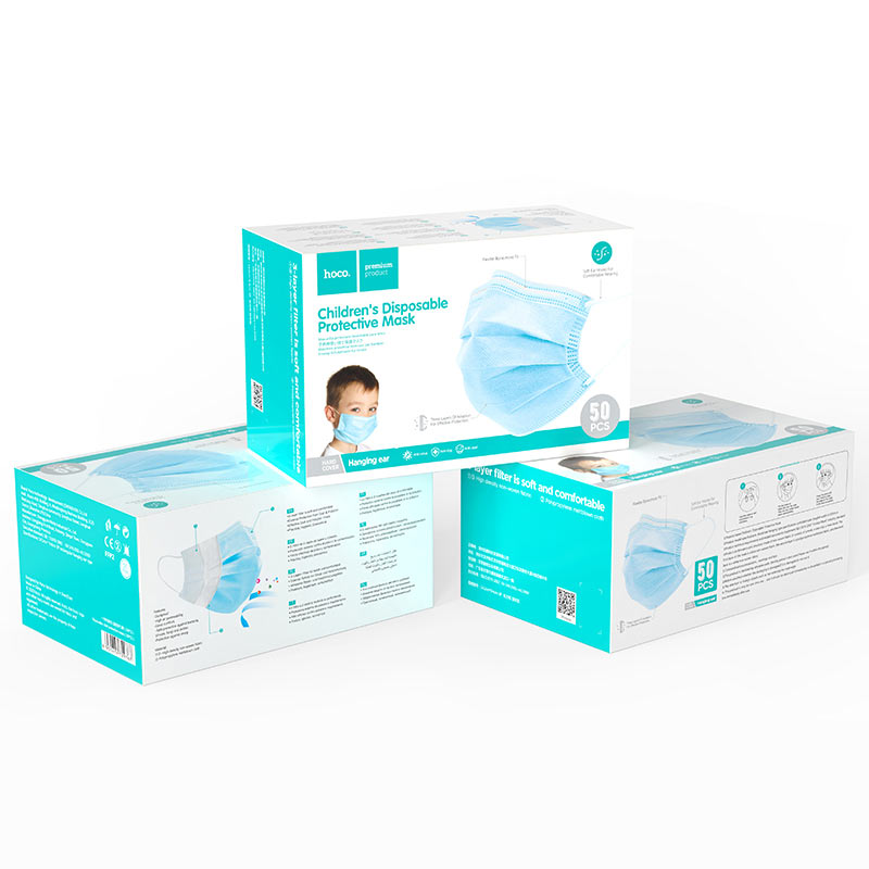 hoco disposable child protective mask 50pcs packages