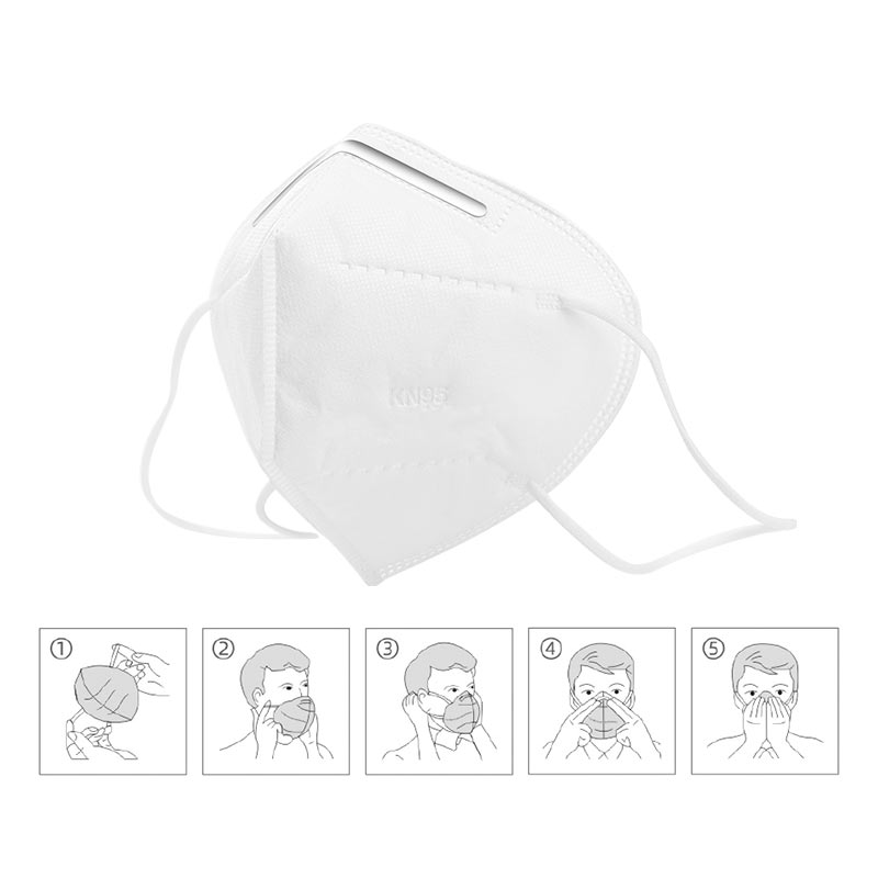 hoco kn95 efficient protective mask adult 10pcs manual