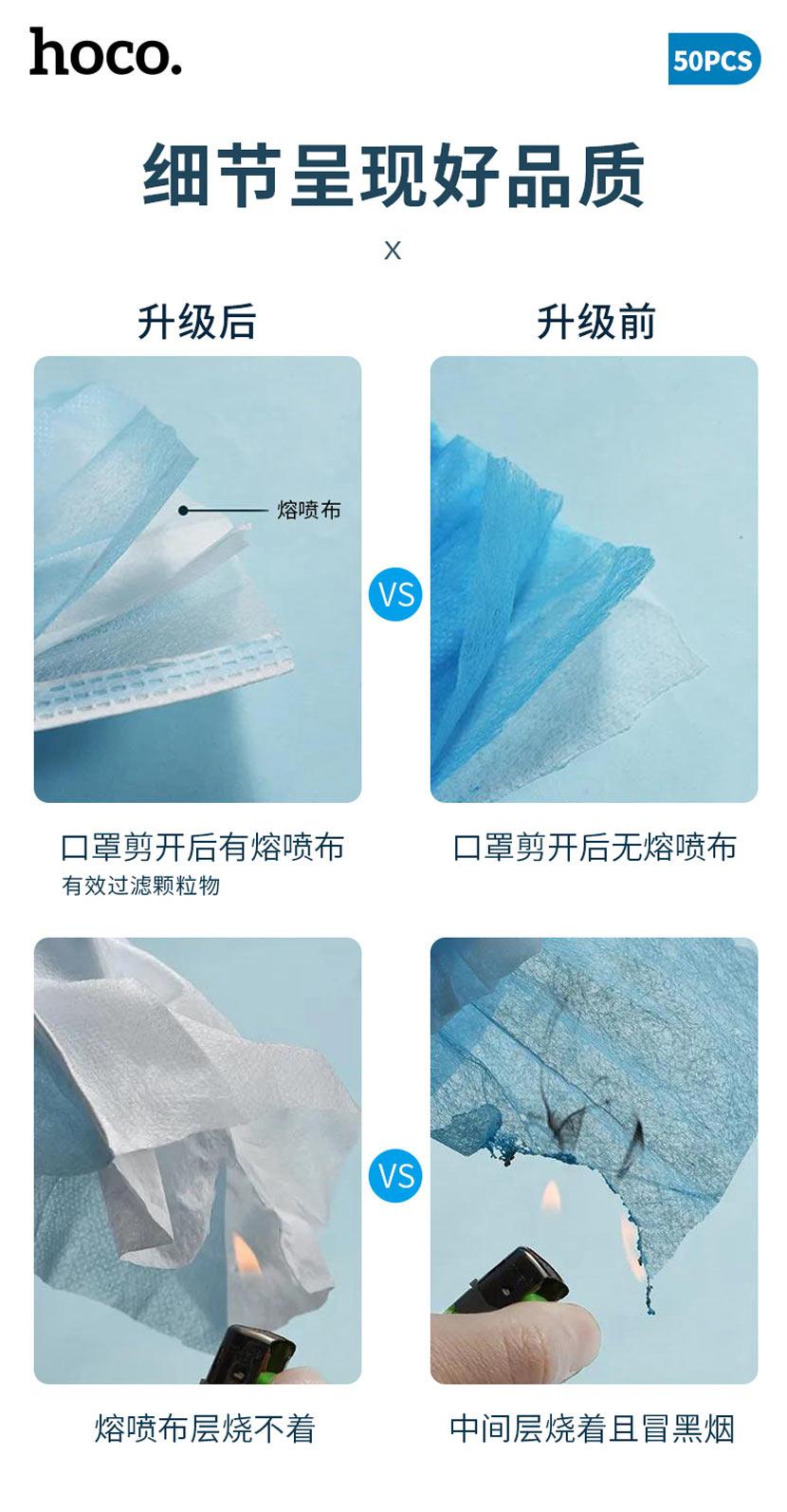 浩酷 新闻 一次性使用防护口罩 质量 cn