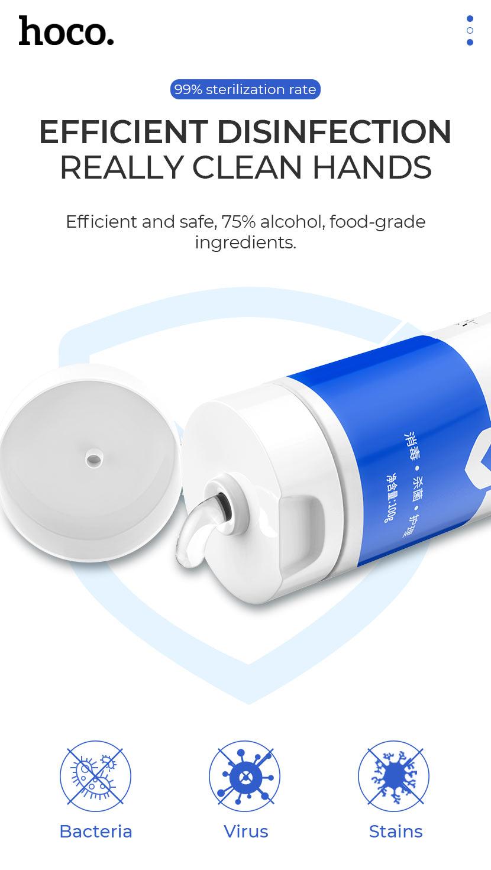 hoco news inspiring disinfection gel 100ml clean en