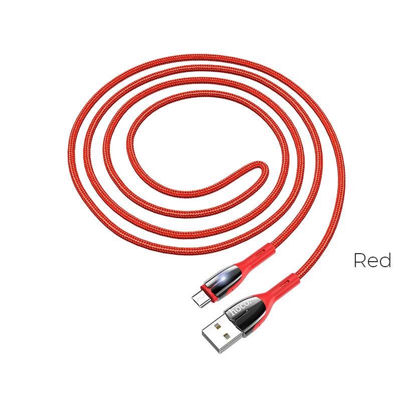 u89 micro usb red