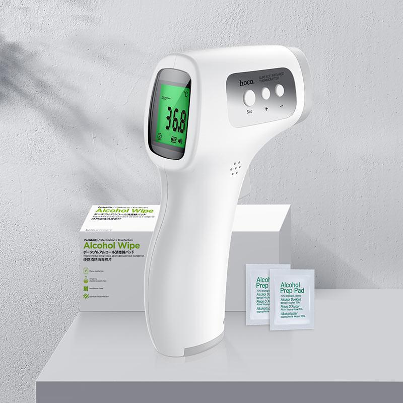 hoco yq6 infrared thermometer interior