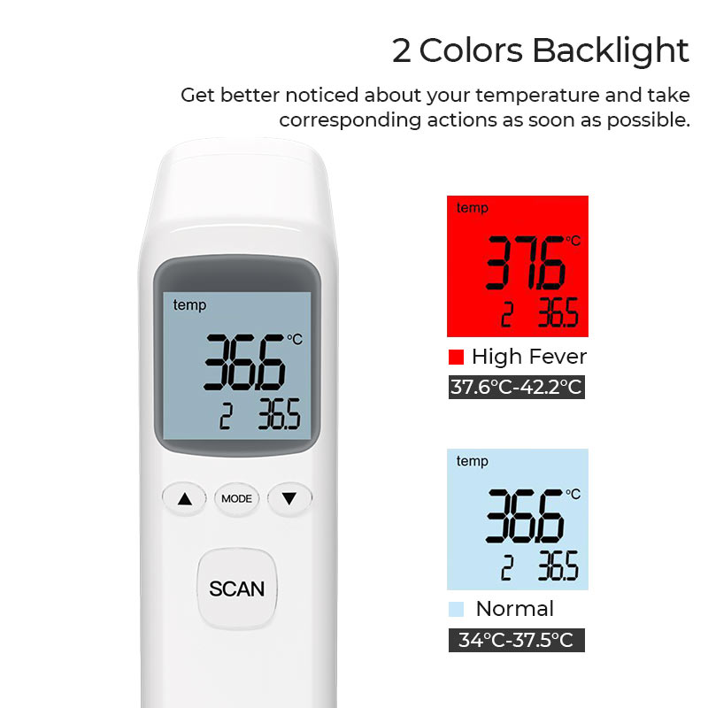 hoco ys et03 non contact infrared thermometer backlight en