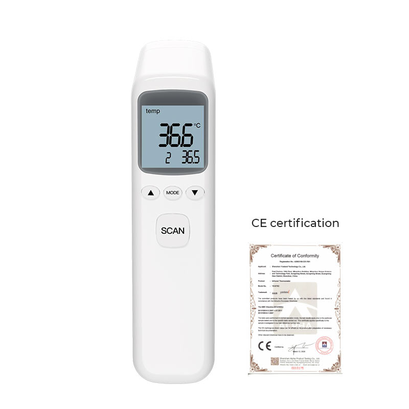 YS-ET03 Portable Infrared Temperature Measuring Thermometer Portable High Precision Non-Contact Thermometer